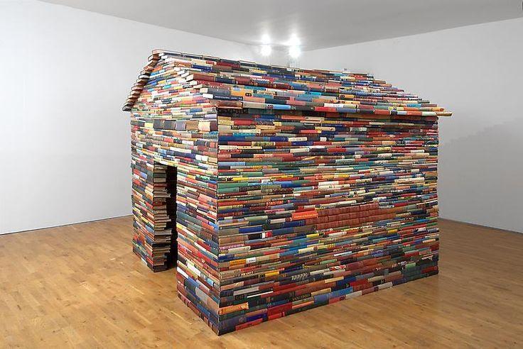 ideas para colocar los libros que no te caben en casa