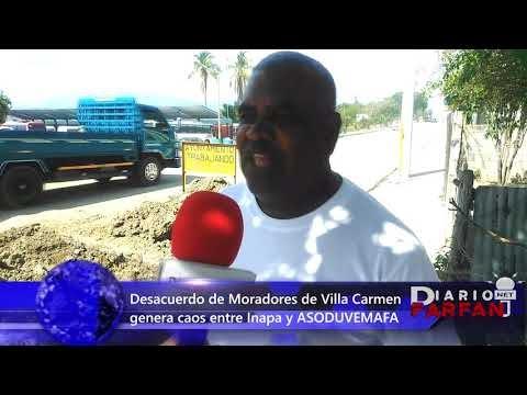 Las Matas De Farfán...Desacuerdo de moradores de Villa Carmen generan caos entre Inapa y Asoduvemafa