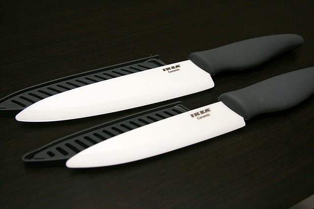 IKEA Bagig Ceramic Knives