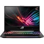 "Asus - Strix Hero II GL504GM 15.6"" Gaming Laptop - Intel Core i7 - 16GB Memory - NVIDIA GeForce GTX 1060 - 1TB HDD + 256GB SSD - Black"