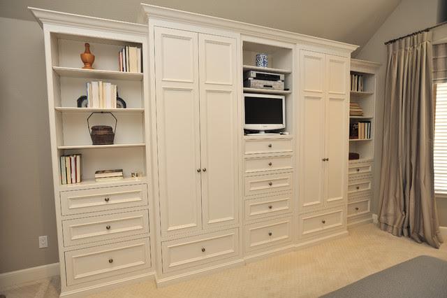 Master Bedroom Storage - Contemporary - Bedroom - san ...