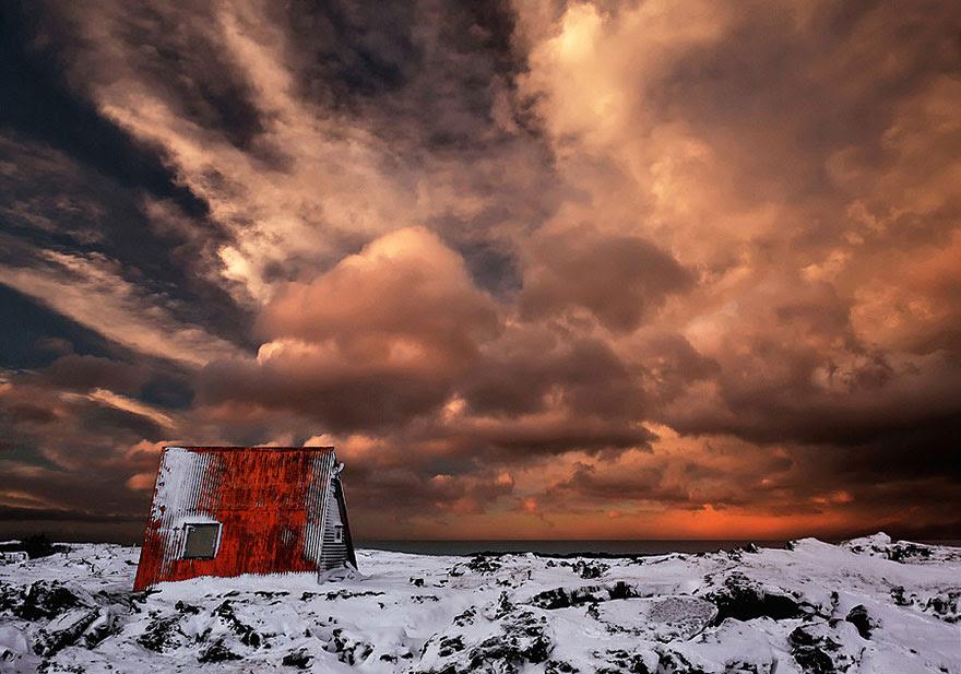 Abandoned Cabin, Iceland
