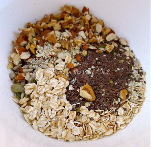 Homemade Granola V1.0 - mixing