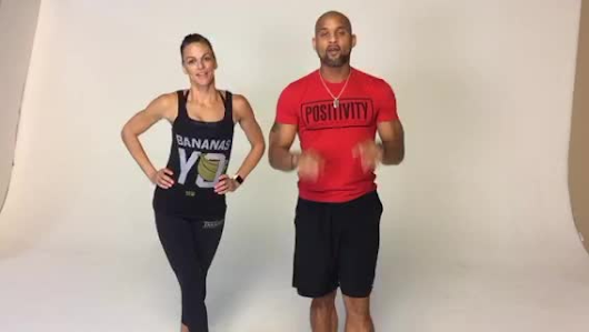 "Shaun T on Periscope: ""5min Abs to kick off December challenge #holidayedge"""
