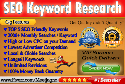 meetjugno : I will run SEO keyword research and competitor research for $5 on www.fiverr.com