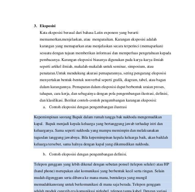 Contoh Teks Eksposisi Beserta Fakta Dan Opini Info Masaran