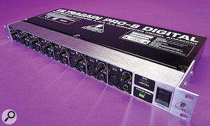Expanding the number of inputs in your setup can be done at arelatively low cost. This Behringer ADA8000 can be found for well under £200</UK>$250</US> and will give you an extra eight inputs to play with.
