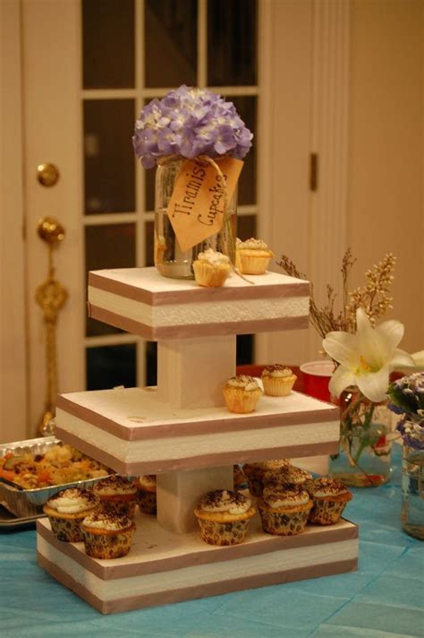 DIY Party Idea: $2 and 20 minute Cupcake Stand   Cake