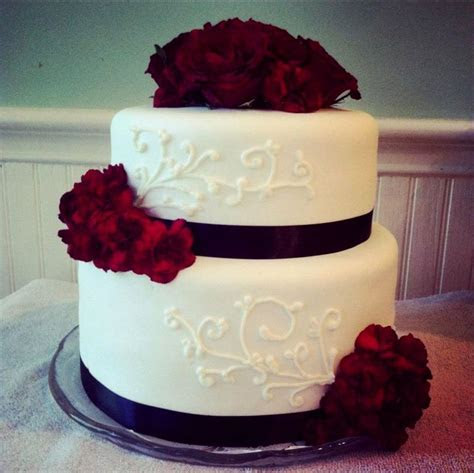 Simple 2 tier wedding cake designs   idea in 2017   Bella