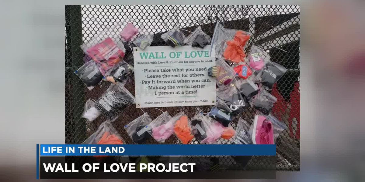 Wall Of Love Project Spreading Warmth For Valentines Day And Beyond