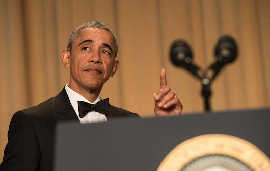 The complete transcript of President Obama's 2016 White House correspondents' dinner speech