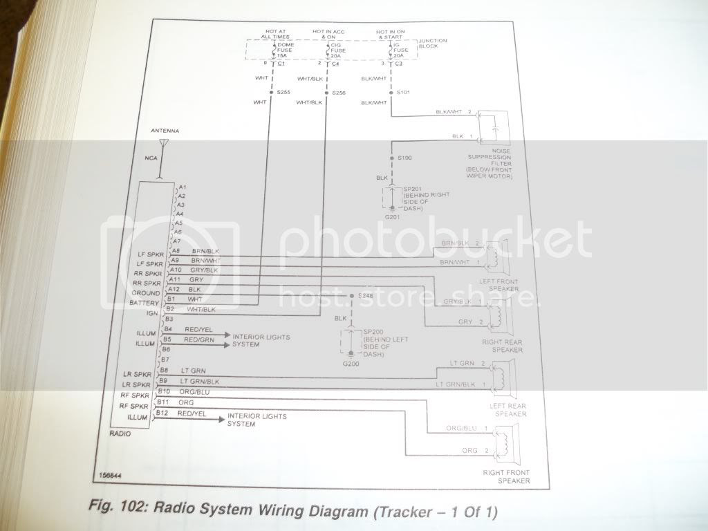 2003 Tracker 2 5 L Wiring Diagrams Suzuki Forums