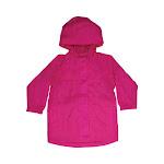 Western Chief Kids Solid Nylon Rain Coat Pink 2T