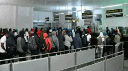 FG To Begin Final Evacuation Of Stranded Nigerian Fans In Russia (Pics)