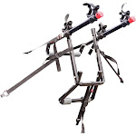 Allen Sports Deluxe 2-Bicycle Trunk Mounted Bike Rack Carrier, 102dn, Black