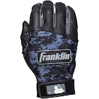 Franklin Sports Digitek Batting Gloves Black/Black Digi Adult Medium