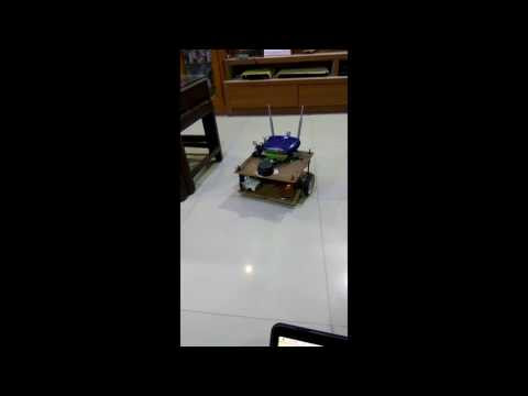 ROS Autonomous Bot (Clerkbot) - Distributed Network - WiFi Teleop Keyboard