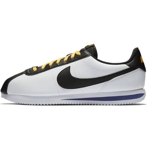 detailed look 21c59 f1239 Nike Cortez - Mens Shoes - White Black Amarillo Field Purple - Size