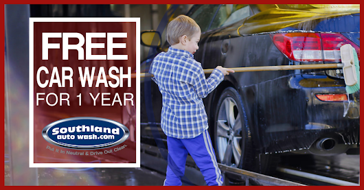 FREE 1 Year Express Unlimited Wash Pass from Southland Auto Wash!