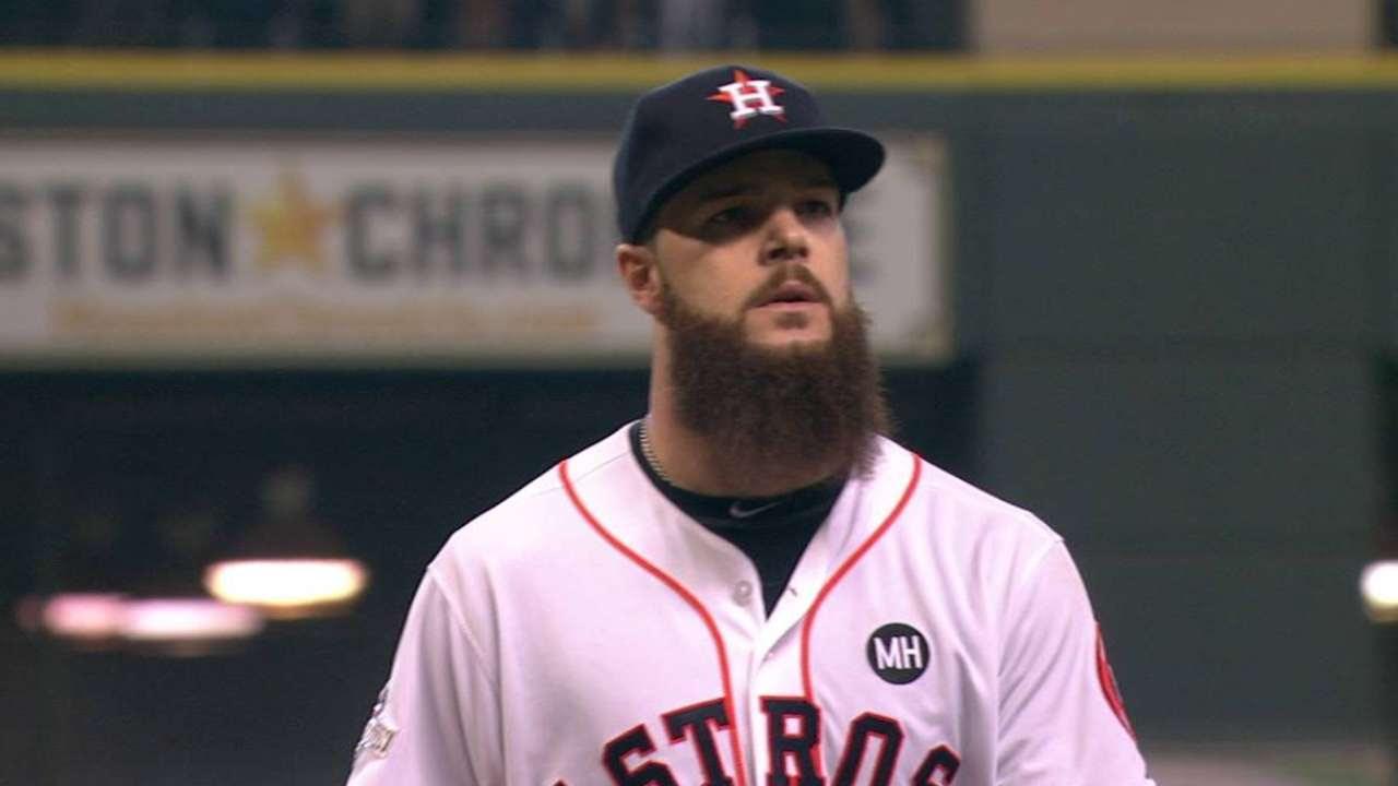 Joya de Dallas Keuchel puso a Astros arriba 2-1 en la SDLA