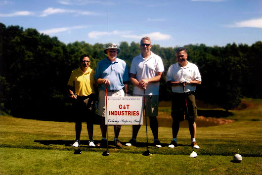 G&T Joins Colony Paper for Annual Golf Outing- G&T Industries