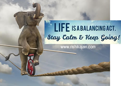 Quote For The Daylife Is A Balancing Act Daily Inspirations For