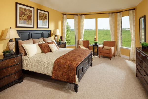 45 Beautiful Paint Color Ideas for Master Bedroom - Hative