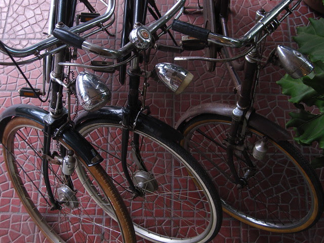 Parked Bicycles, Solo