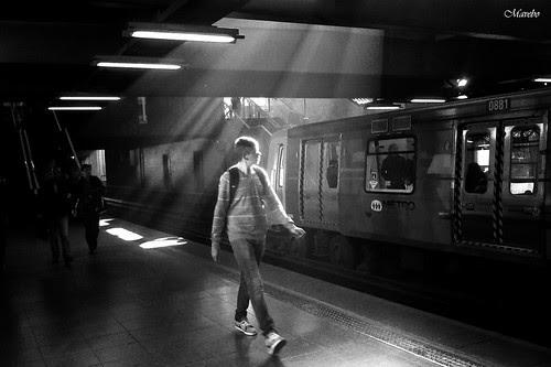 Subway Santiago de Chile by Alejandro Bonilla