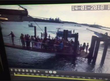 Perito vai investigar desabamento no Terminal Marítimo de Madre de Deus