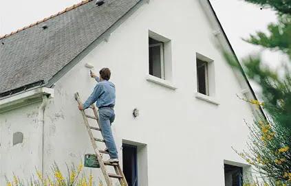 Peinture Extérieure Façade Comment Repeindre Une Maison Bricobistro