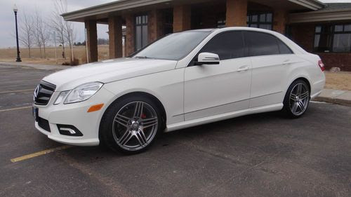 Purchase used 2011 MERCEDES-BENZ E350 4MATIC AMG SPORT ...