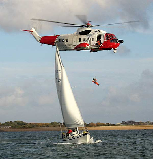 How To Prepare For A Helicopter Hoist - Grenada Bluewater Sailing
