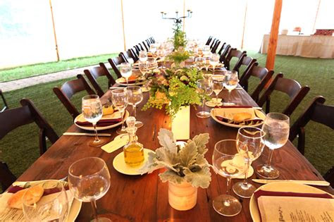 thyme  cook  north stonington ct wedding caterers