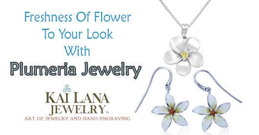 Bring the Freshness of Flower to Your Look with Plumeria Jewelry