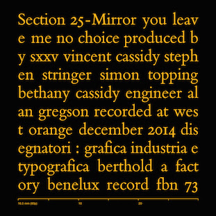 Section 25 - Mirror [FBN 73]