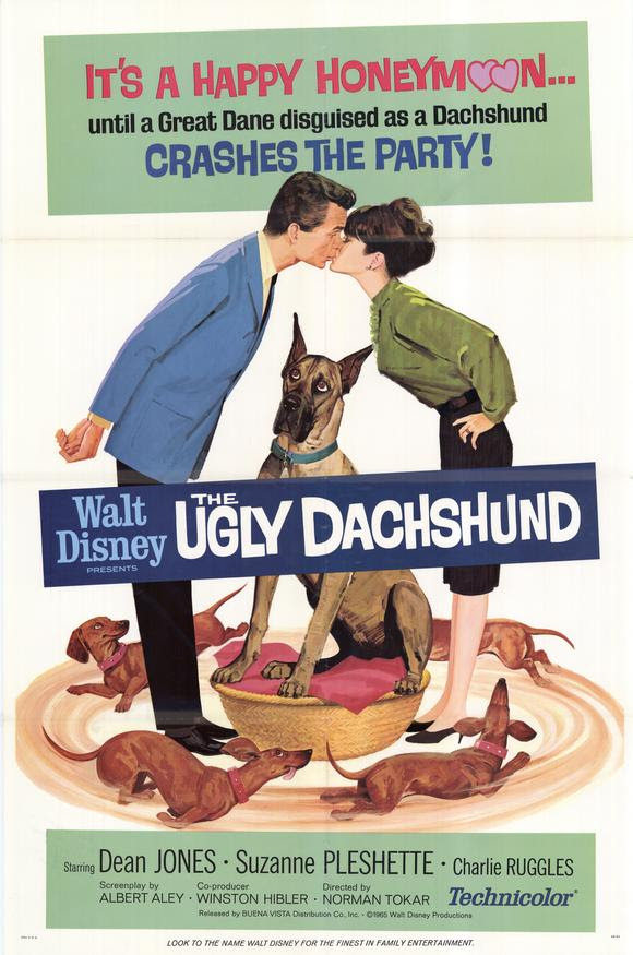 The Ugly Dachshund Movie Poster