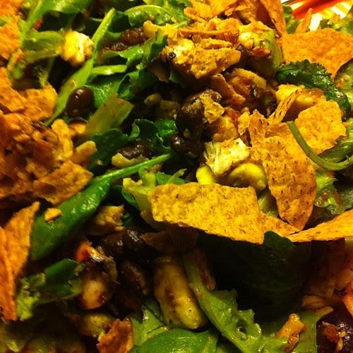 Fajita Taco Salad #wfd