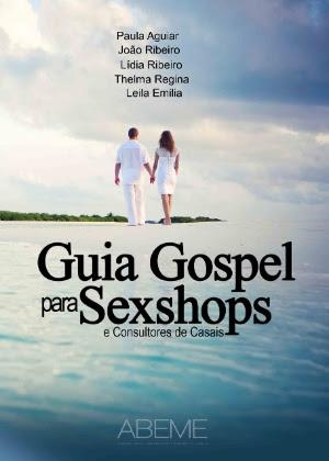"""Capa do livro """"Guia Gospel para Sexshops"""""""