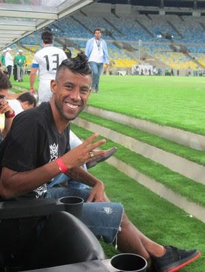 Leo Moura Maracanã reabertura (Foto: Janir Junior)