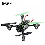 Hubsan H107c Hd 61170-02 4 Channel 2.4ghz Rc Quad Copter With Hd Camera (green/black)