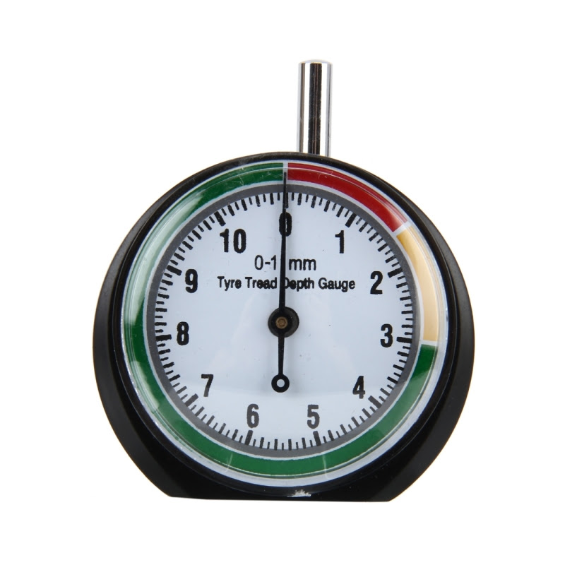 Car Wheel Tire Pressure Tread Depth Gauge Meter Pointer Indicator Measurement Device Tire