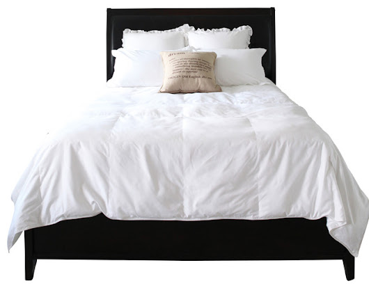 Easy Bed Making Natural Down Comforter, Full/Queen - Traditional - Comforters And Comforter Sets - by Covermade Bedding