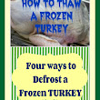 HOW TO DEFROST A FROZEN TURKEY – HOME AGAIN Jiggety-Jig!
