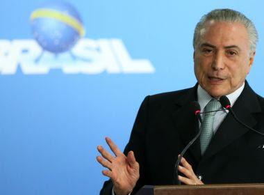 Mesmo condenado, Lula não está morto politicamente, afirma Temer