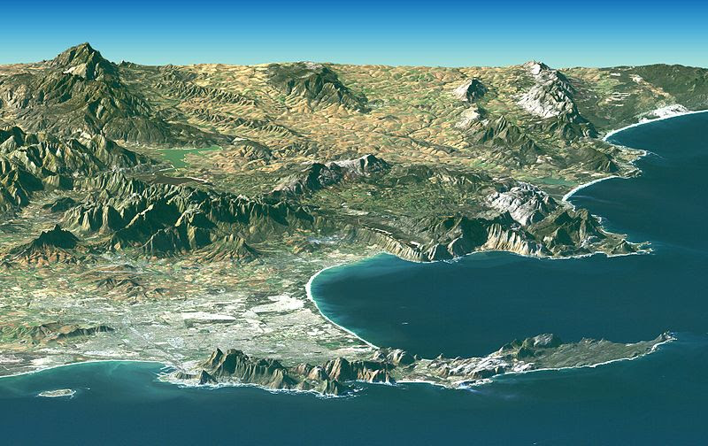 File:Satellite image of Cape peninsula.jpg