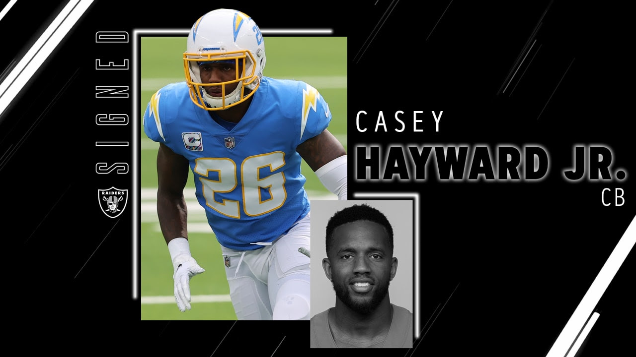 Raiders sign CB Casey Hayward Jr.