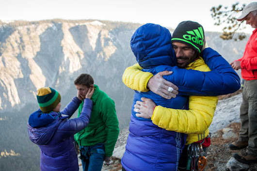 El Capitan's Dawn Wall Climbers Reach Top at Yosemite