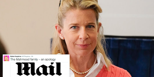 People Are Making Sure Katie Hopkins' Extraordinary Mail Online Apology Isn't Missed