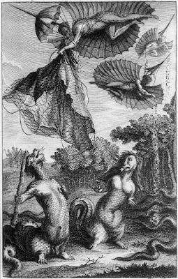Les Hommes-serpens - 1781: Nicolas-Edme Restif frontpiece